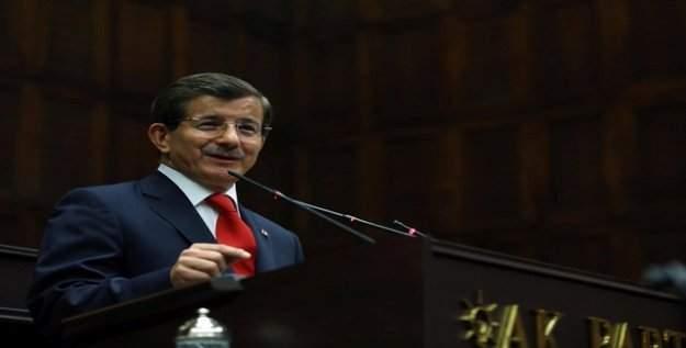 Başbakan Ahmet Davutoğlu parti grup toplantısında konuşuyor