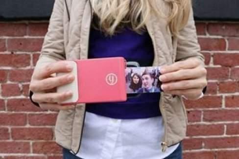 Bu telefon kılıfı ile fotoğrafları anında basın!