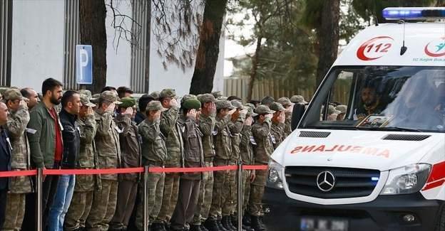 Diyarbakır'da şehit olan 6 asker için tören düzenlendi