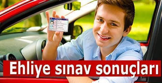 Ehliyet sınav sonuçları 2016 açıklandı Ehliyet sonuçları MEB.GOV.TR tıkla öğren