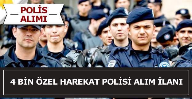 Emniyet Genel Müdürlüğü 4 bin Polis Alım İlanı yayımlandı, 2016 yılı 4 bin polis alım kriterleri neler?