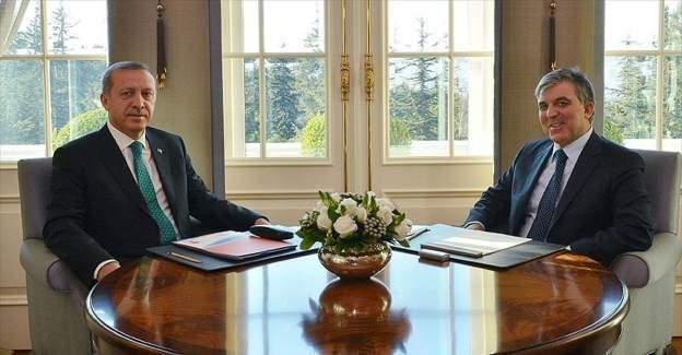 Cumhurbaşkanı Erdoğan ve Eski Cumhurbaşkanı Abdullah Gül akşam yemeğinde bir araya geldi