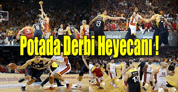 Fenerbahçe potada Galatasaray'ı devirdi - Fenerbahçe 76 - 68 Galatasaray Odeabank