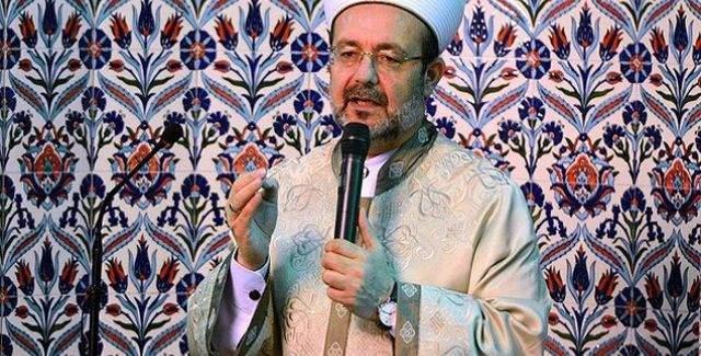 Mehmet Görmez, Kuyubaşı Camisinde hadis sohbeti yaptı