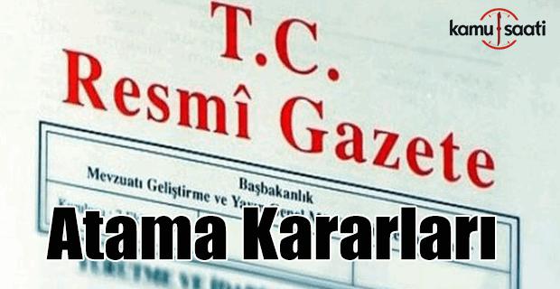 Resmi Gazete'de 25 Şubat 2016 tarihli atama kararları