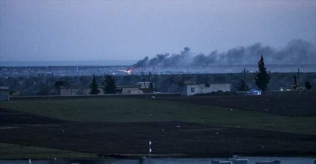 Rus uçakları Azez'i misket bombasıyla vurdu