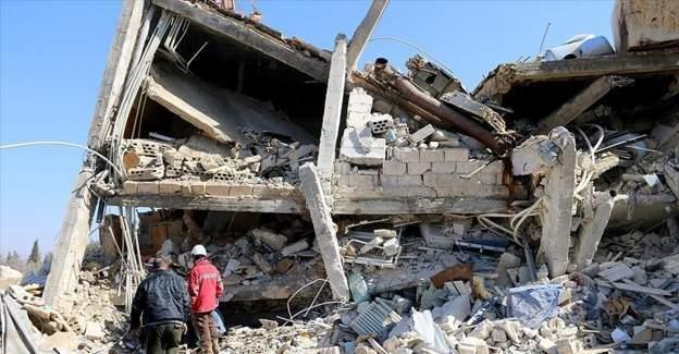 Rus ucaklari Idlib'de sinir tanimayan doktorlara ait hastaneye saldirdi