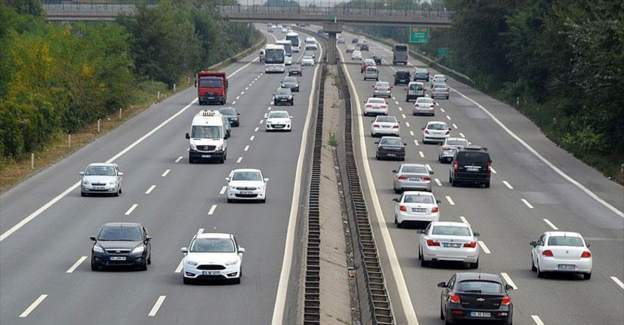 Trafiğe kayıtlı araç sayısı yüzde 6,2 arttı