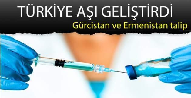 Yerli aşı geliştirildi, Ermenistan ve Gürcistan talip oldu!