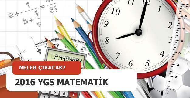 2016 YGS matematik soruları ve cevapları, Ygs matematik soruları nasıldı? Sınav soruları ne zaman yayınlanacak?