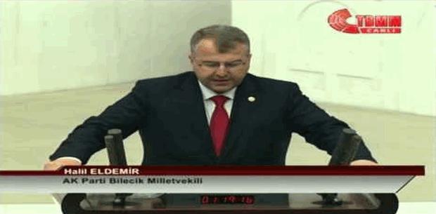AK Parti Milletvekili Halil Eldemir'den DSİ'ye övgü
