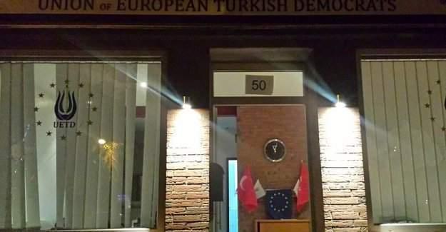 Avrupalı Türk Demokratlar Birliğinin Dinslaken Şubesine saldırı yapıldı