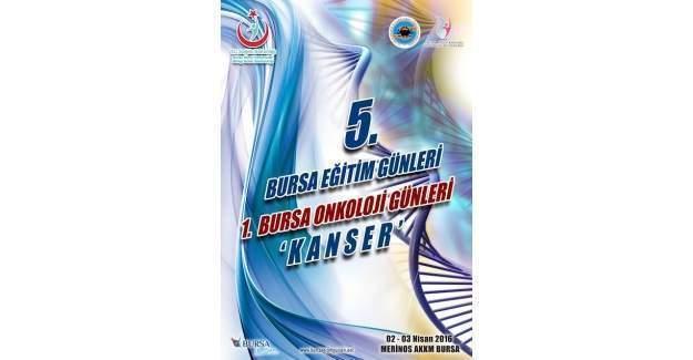 Bursa'da kanserle mücadele eğitimi