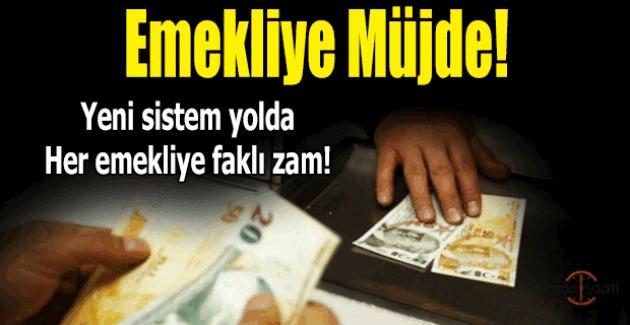 Emekliye Müjde: Maaşlara zam