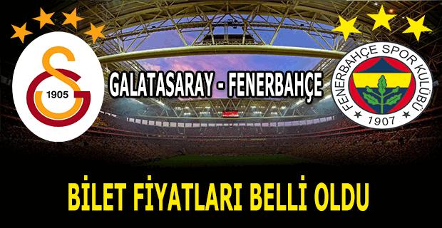 Galatasaray - Fenerbahçe maçının biletleri satışa çıktı. Dev derbinin saatinde değişiklik