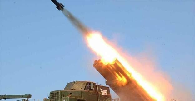 Kuzey Kore 6 roket fırlattı