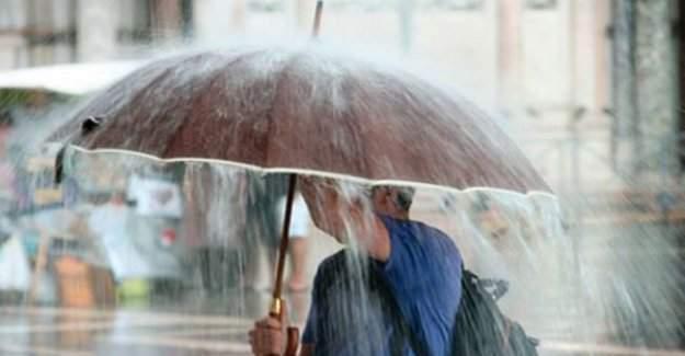 Meteoroloji yeni bir uyarıda bulundu: Havalar yağış içerisinde kalacak