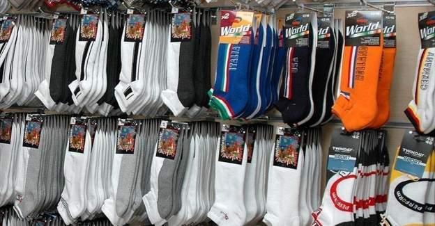 Türkiye'den 1 milyar 27 milyon dolarlık çoraplık ihracat