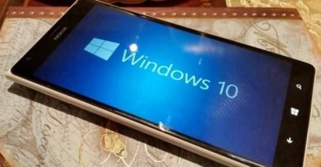 Mobil Windows 10 güncellemesine ilişkin detaylar ortaya çıktı