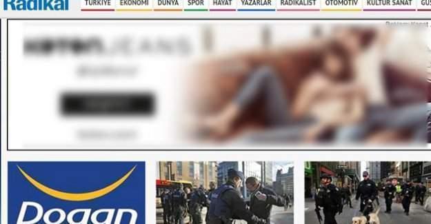 Radikal'in Web Sitesi de Yayından Kaldırılacak