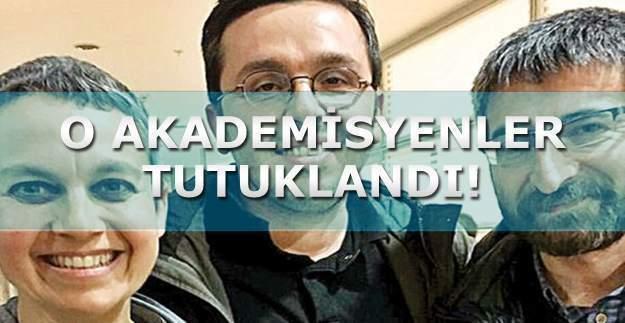 Üç akademisyen örgüt propagandası yapmak suçundan tutuklandı