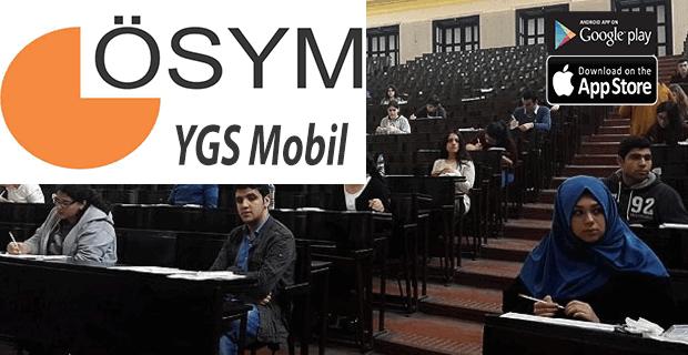 ÖSYM mobil uygulama indir YGS sonuçları akıllı cep telefonundan Google play, android ve ios ile anında öğren