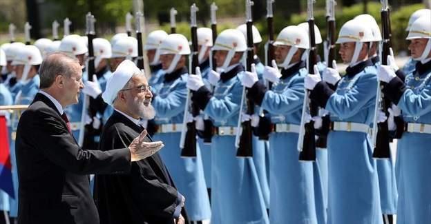 İran Cumhurbaşkanı Ruhani'yi Ankara'da