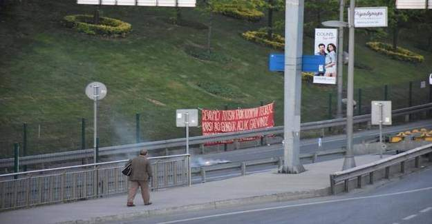 İstanbul D-100 karayolunda şüpheli paket alarmı