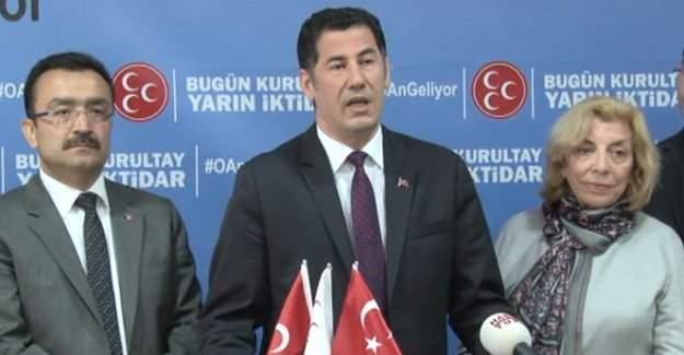 Sinan Oğan MHP kurultayının yapılacağı tarihi açıkladı