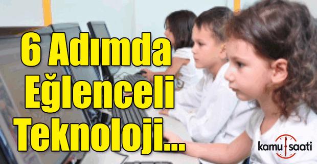 Sınıflarda 6 adımda eğlenceli teknoloji!