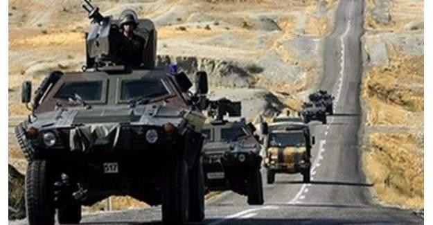 Suriye sınırına askeri sevkıyat yapıldı