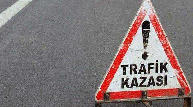 Teog sınavına görevli öğretmenler kaza yaptı