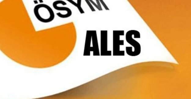 ALES 2016 bugün yapılacak, ALES'e girecek adaylar dikkat!