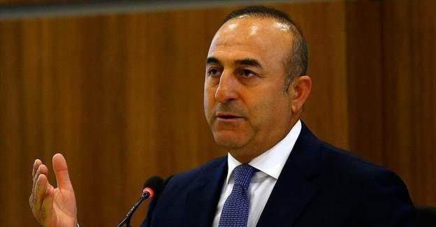 Dışişleri Bakanı Çavuşoğlu'ndan ABD'ye PYD eleştirisi