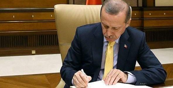 Erdoğan 8 kanunu onayladı!
