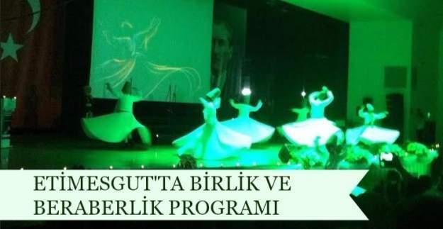 Etimesgut'ta İmam Hatip Okulları Birlik ve Beraberlik Programı