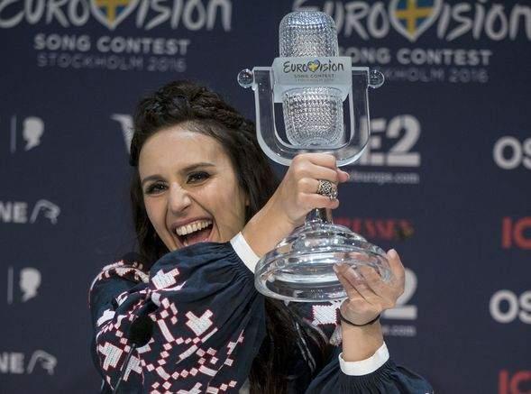 Eurovision Şarkı Yarışması'nın kazananı: Ukrayna!