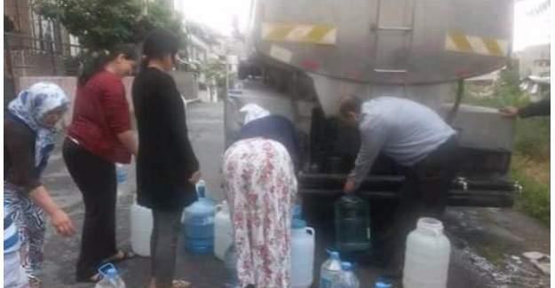 İzmir Bornova'daki 1 haftalık su kesintisi vatandaşı çıldırttı