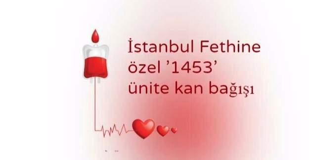 Karabük Üniversitesi, bugün '1453' ünite kan bağışında bulundu