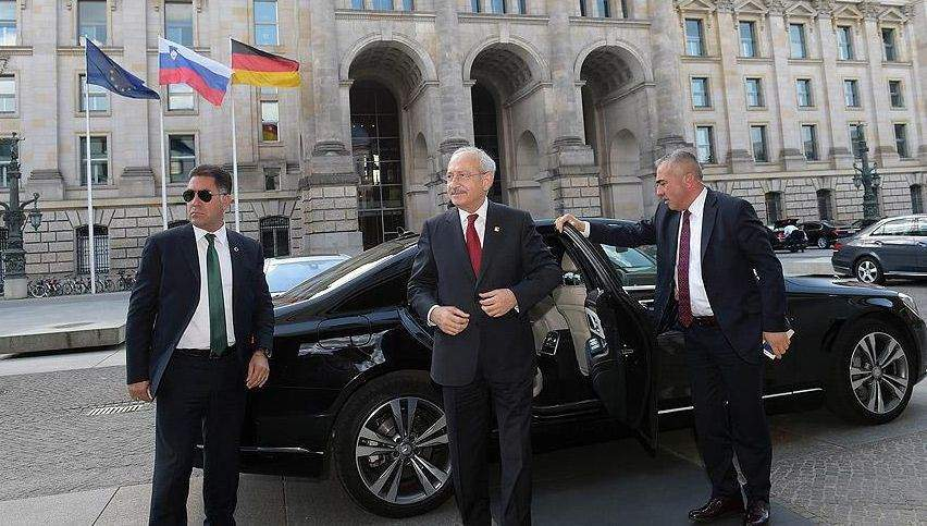Kılıçdaroğlu Steinmeier ve Ayrault ile bir araya geldi