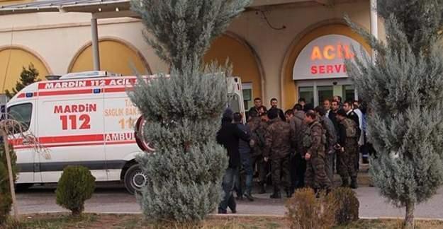 Mardin'de askeri araca bombalı saldırı: 5 yaralı