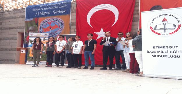 Oryantiring gününde Türkiye rekoru