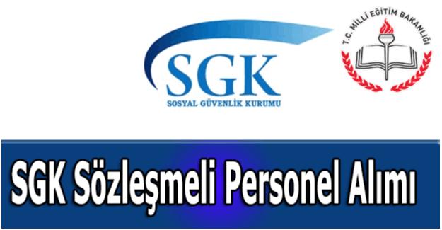 SGK 110 Personel alımı yapıyor, peki başvuru nasıl olacak?