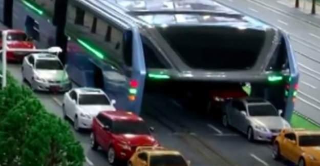 Trafik sorununu çözecek 'uber otobüs' projesi!