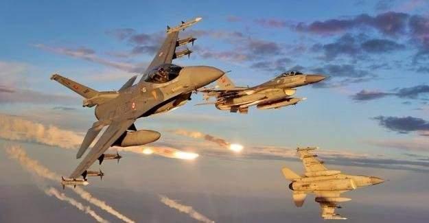 TSK, Kuzey Irak'a hava harekatı düzenledi!