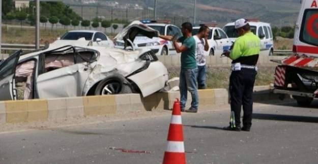 AK Partili Başkan kaza yaptı! Emniyet Müdürü ağır yaralı