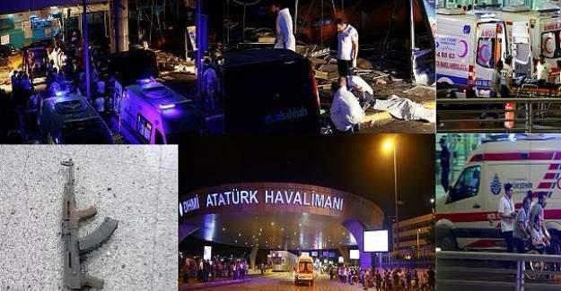 Atatürk Havalimanındaki 3 canlı bombanın net görüntüsü ortaya çıktı