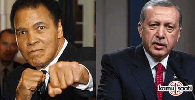 Cumhurbaşkanı Erdoğan Muhammed Ali'nin cenazesinde konuşma yapacak