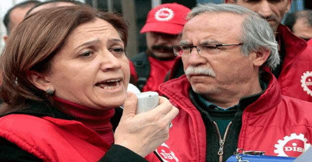 DİSK Genel Sekreteri Arzu Çerkezoğlu Erdoğan'a hakaretten gözaltına alındı