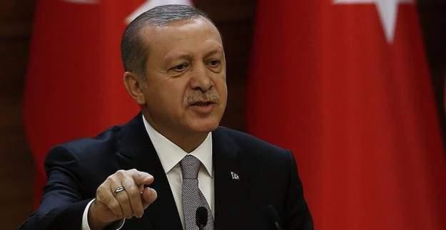 Erdoğan'dan, Almanya'ya sert uyarı!